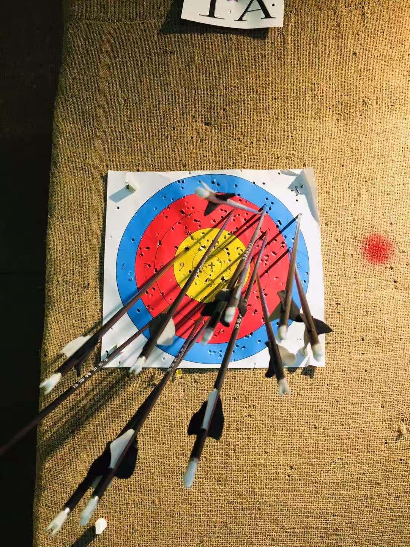 8 米的靶